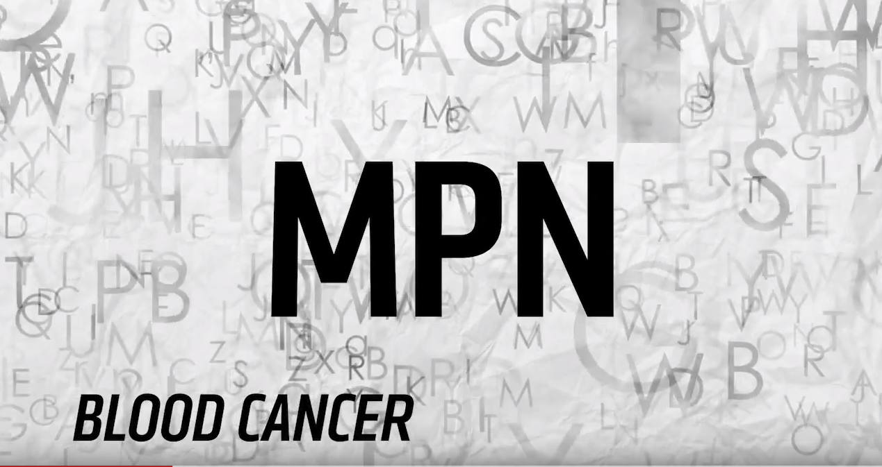 MPN blood cancer awareness